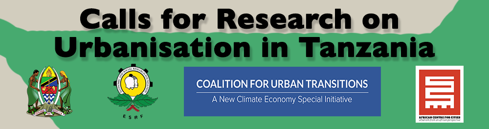 Call for Research on Urbanisation in Tanzania